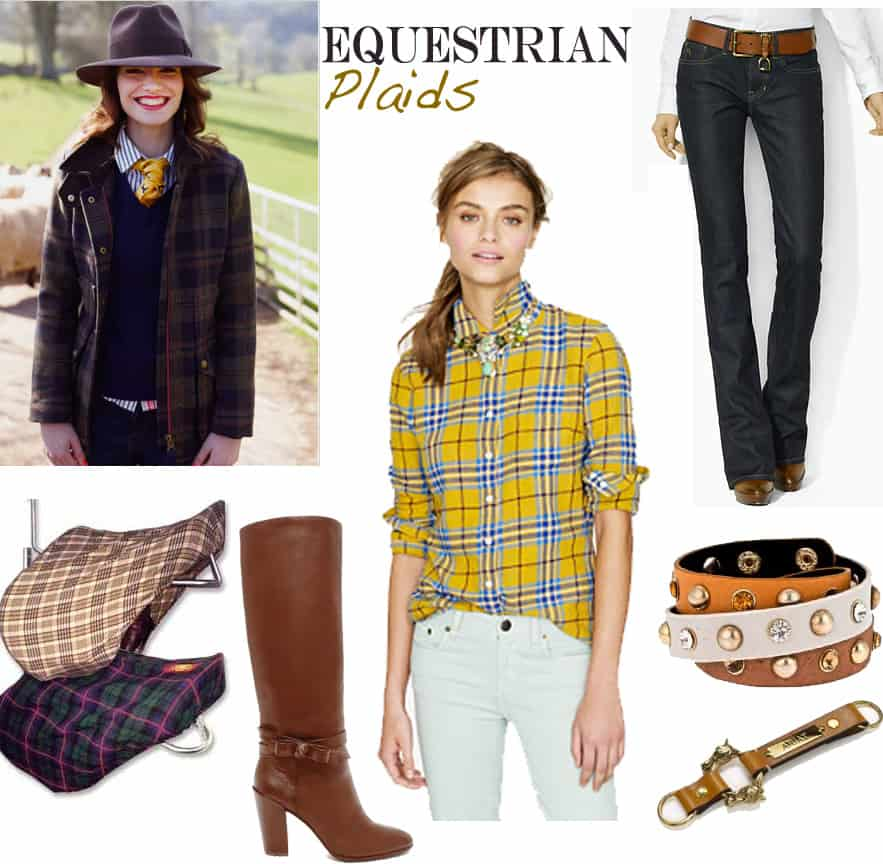 Playful in Plaids Equestrian Style Fall 2012 | Equestrian ...