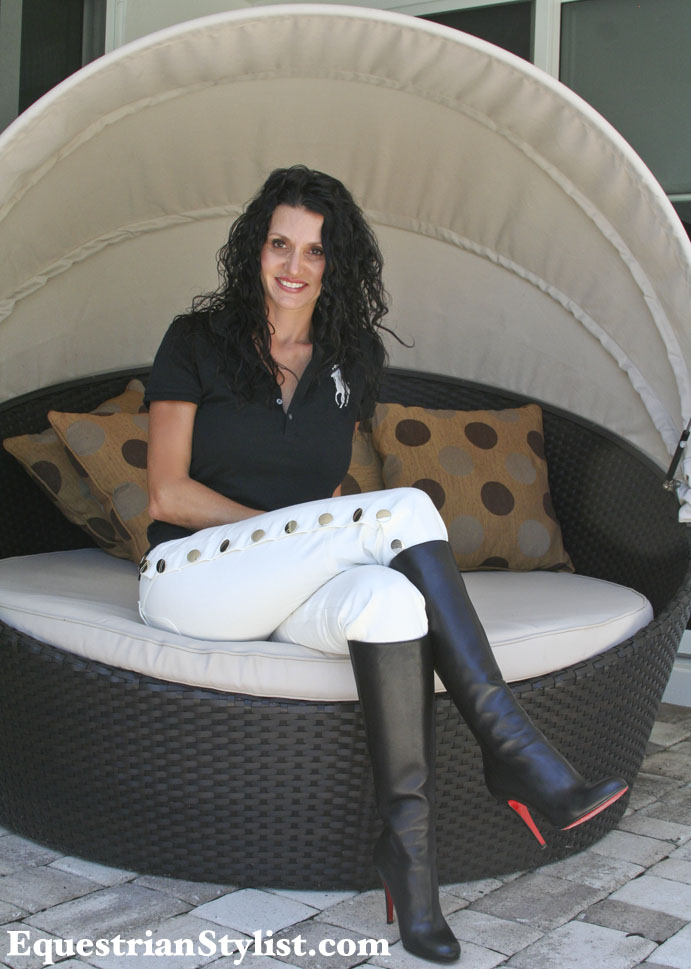 Featuring Stephanie Namnum In Equestrian Style With A Touch Of Vogue Equestrian Stylist