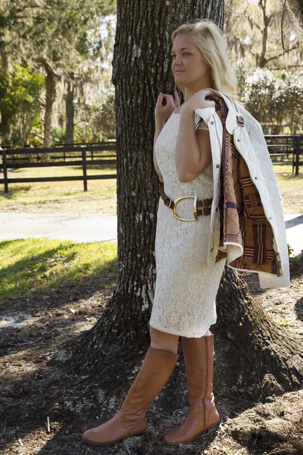 Lace, Leather, Chestnut and Teal: Fall Equestrian Fashion ...