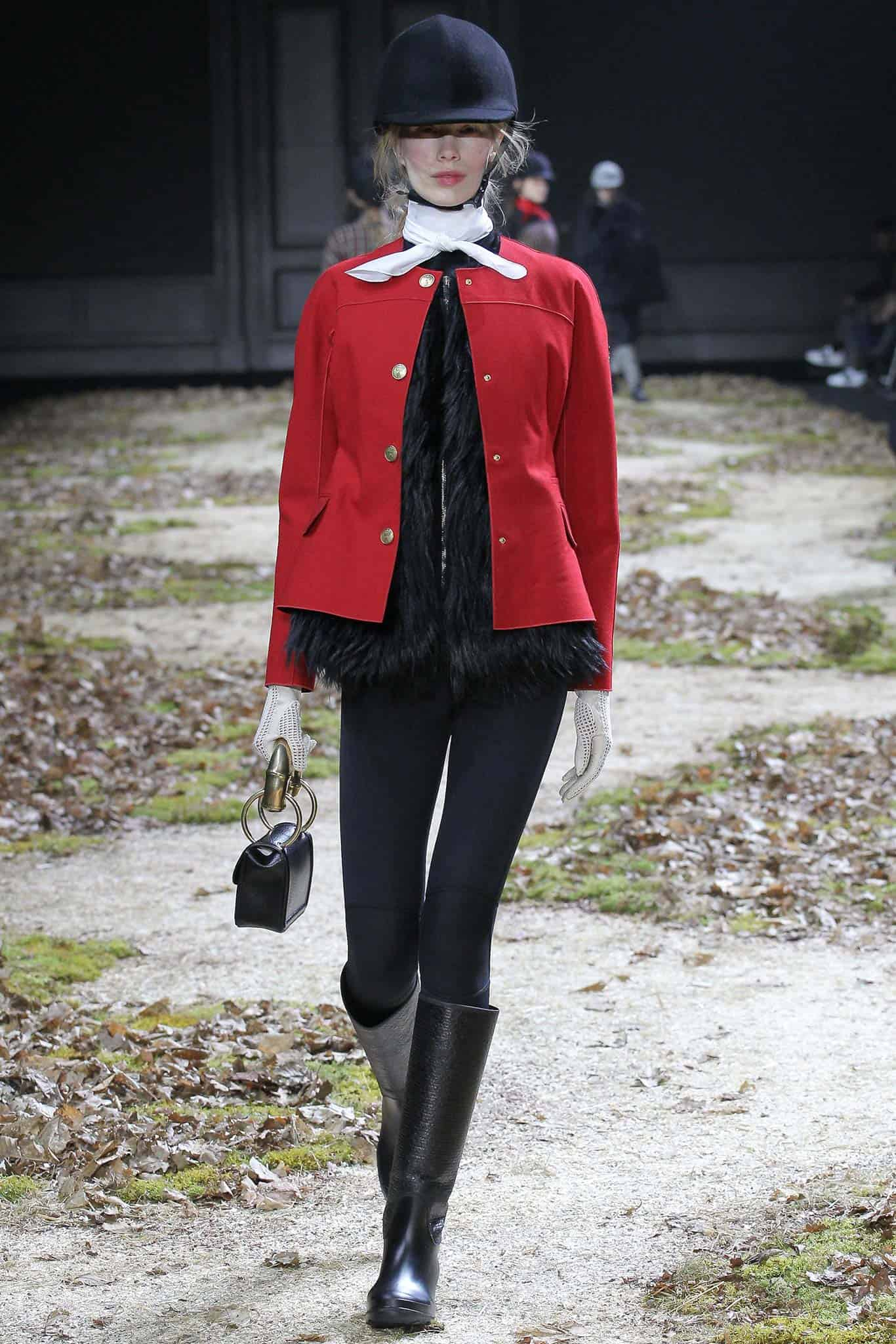 Fall 2015 Moncler Gamme Rouge Equestrian Style