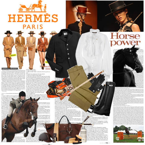Riding To Hermes Equestrian Stylist