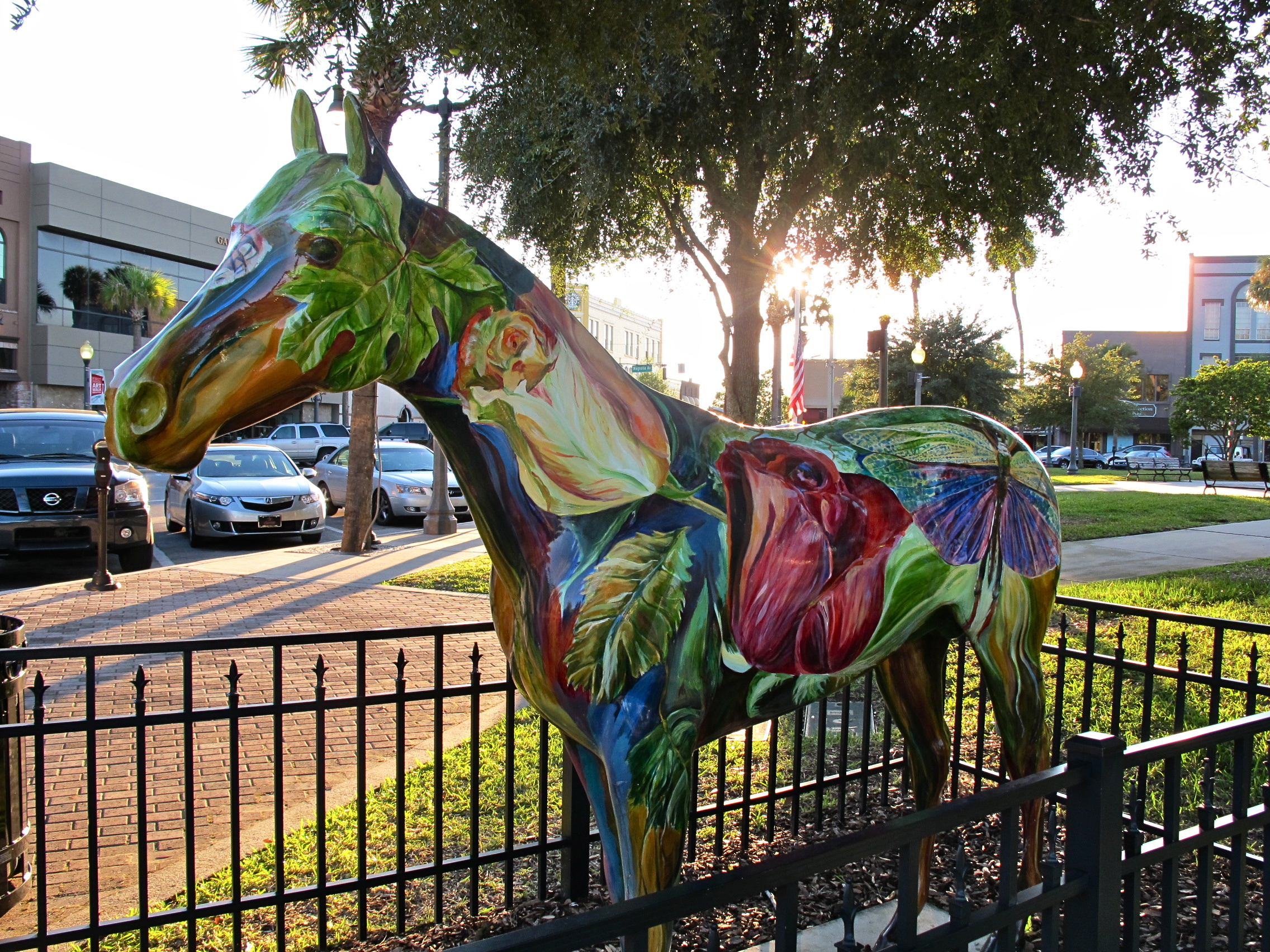 painted ponies an ocala community project horse fever