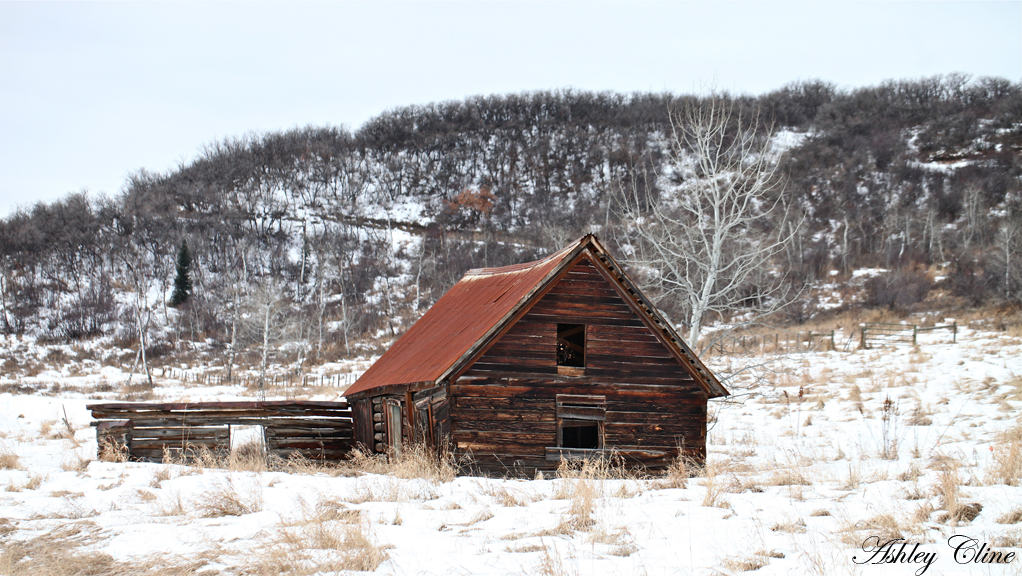 Wood cabin barns are very popular here, giving an authentic and vintage  western vibe throughout the entire town. Enjoy!