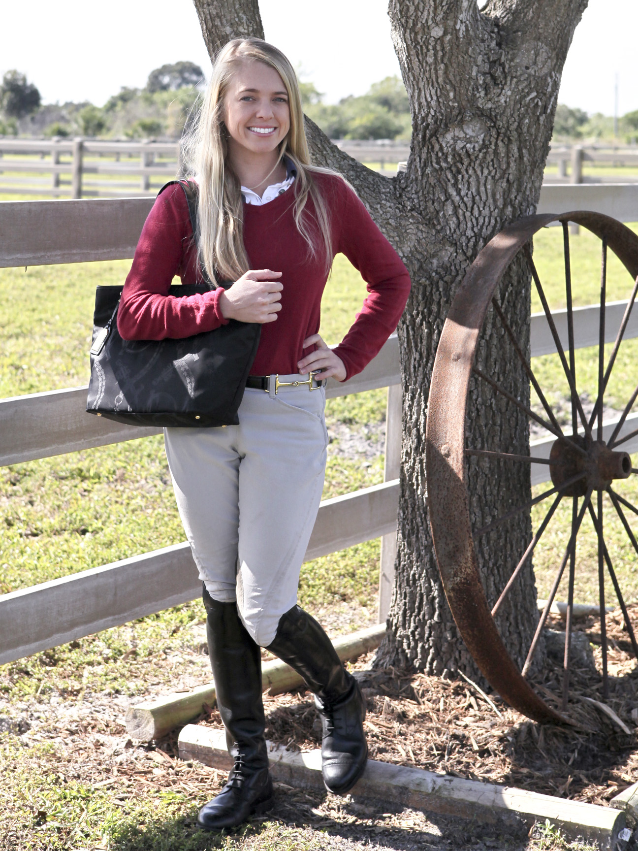Riding Boots with Comfort & Style: Ariat Challenge Field Zip II ...