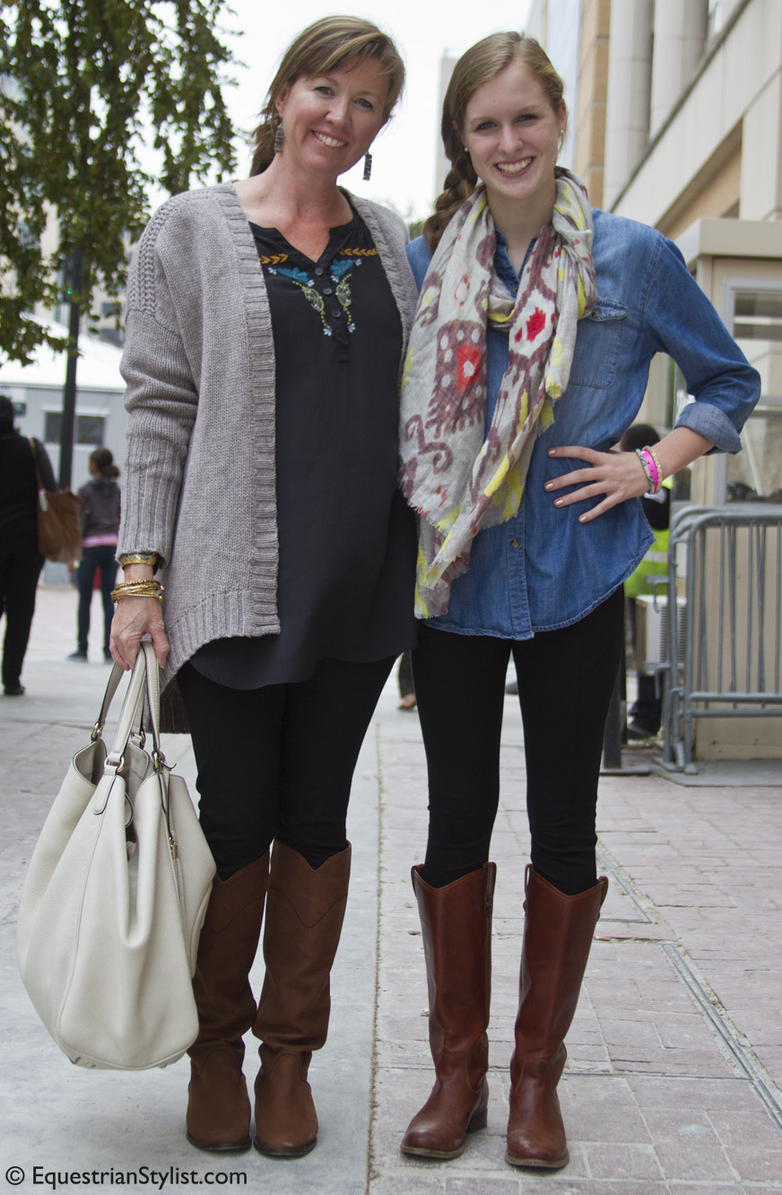 Equestrians and Fashionistas from the Washington ...