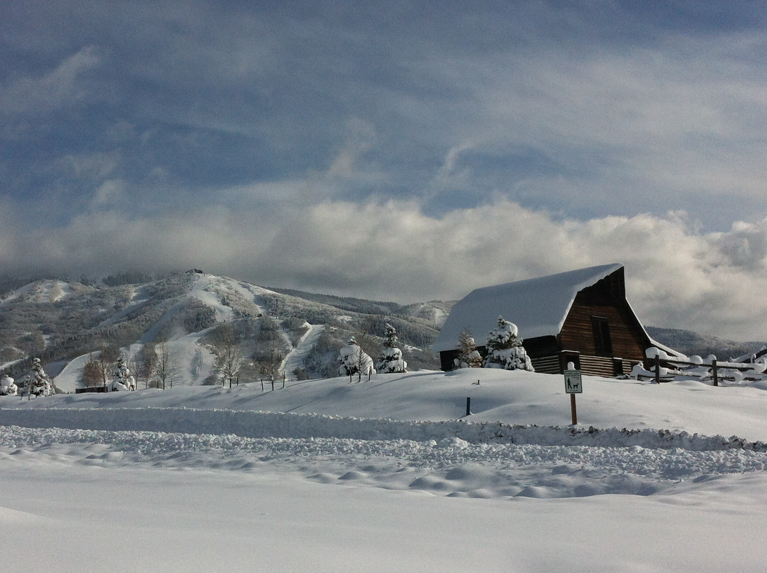 Fresh Snow Amp Equestrian Findings From Steamboat Springs