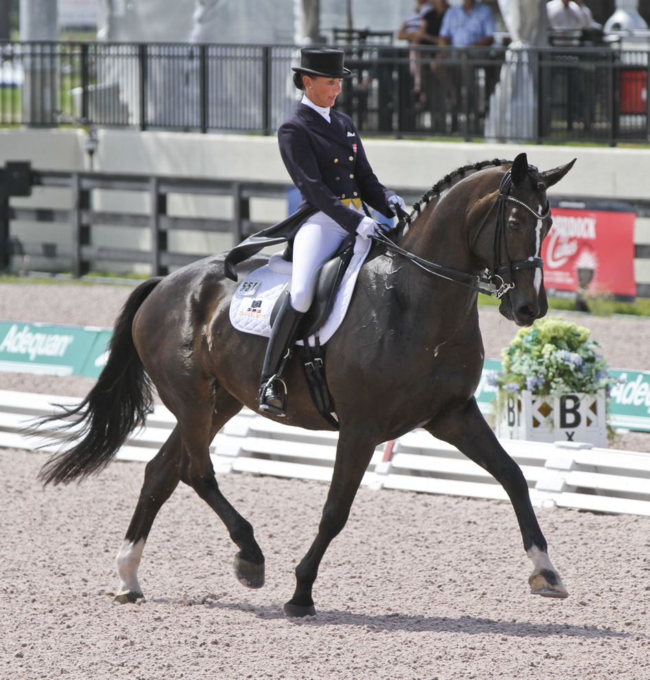 Equestrian Style At The Global Dressage Festival In