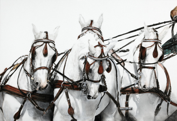 four horse hitch