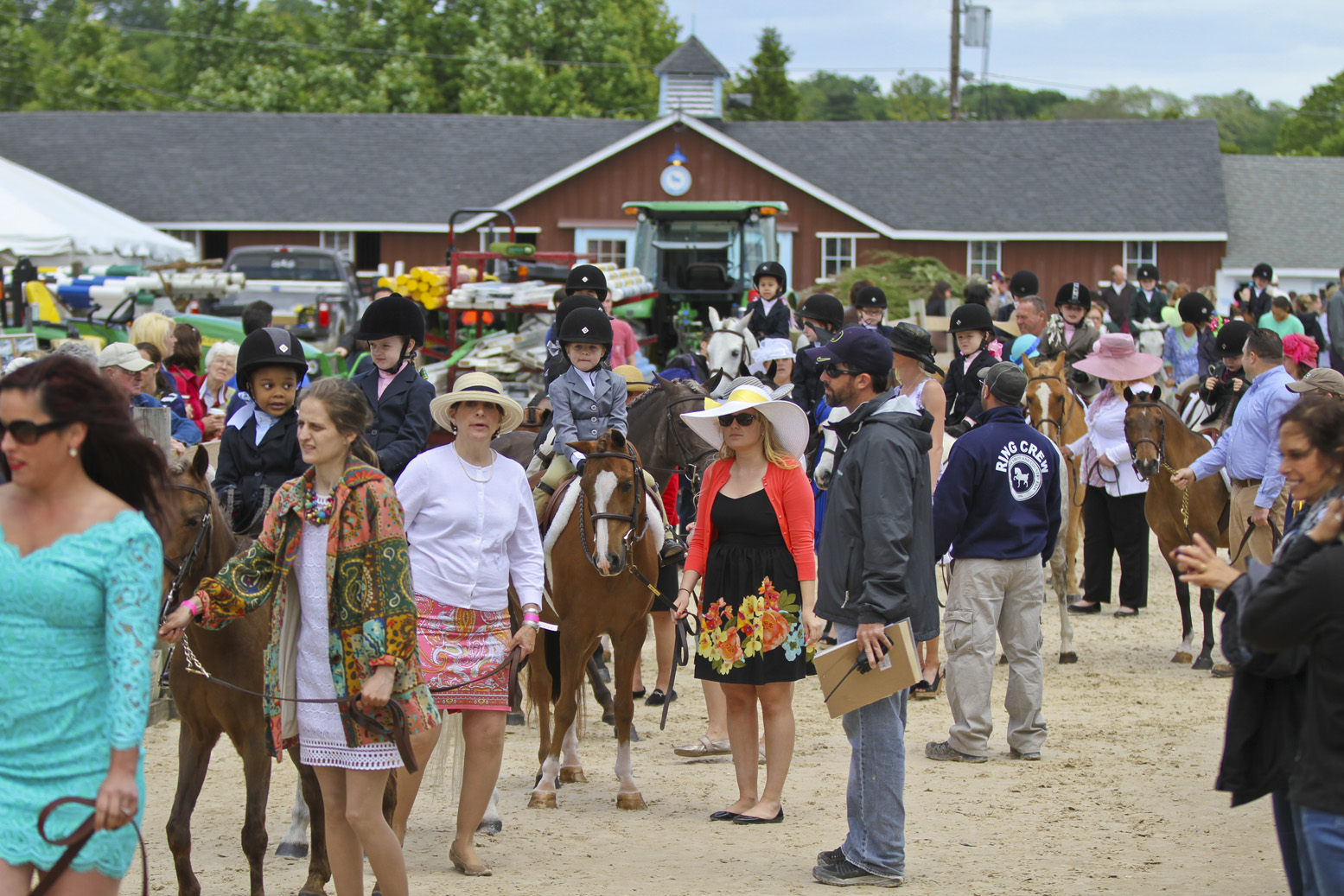 from devon to upperville horse shows  a style recap