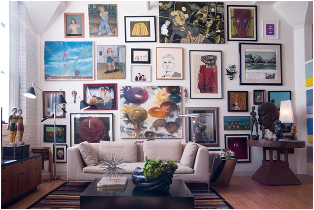 the art of hanging art equestrian stylist