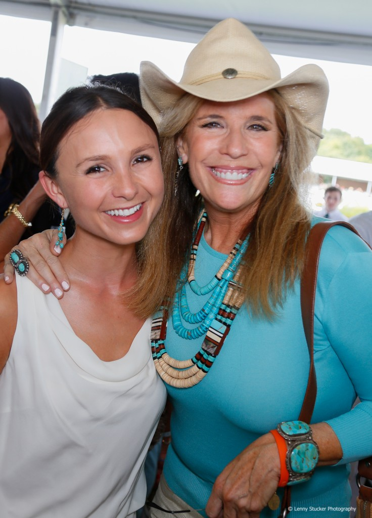 Georgina Bloomberg and Jill Rappaport CLenny Stucker