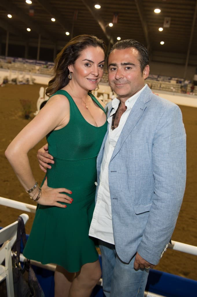 Carmina Zamorano and Rafael Chavez Monzon, owners of Haras Dos Cavaleiros, always bring an international flair to the Pin Oak Charity Horse Show.  They are leaders in bringing the discipline of Working Equitation to the United States through Pin Oak.  Haras Dos Cavaleiros is the Week I Title Sponsor for the 69th Pin Oak Charity Horse Show, March 19-23. Photo Credit: PWL Studio, Fulton Davenport