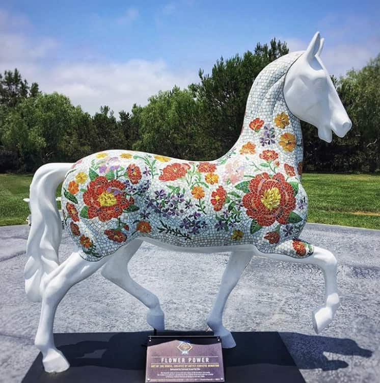 Spotted Breeders Cup Art Of The Horse Exhibition