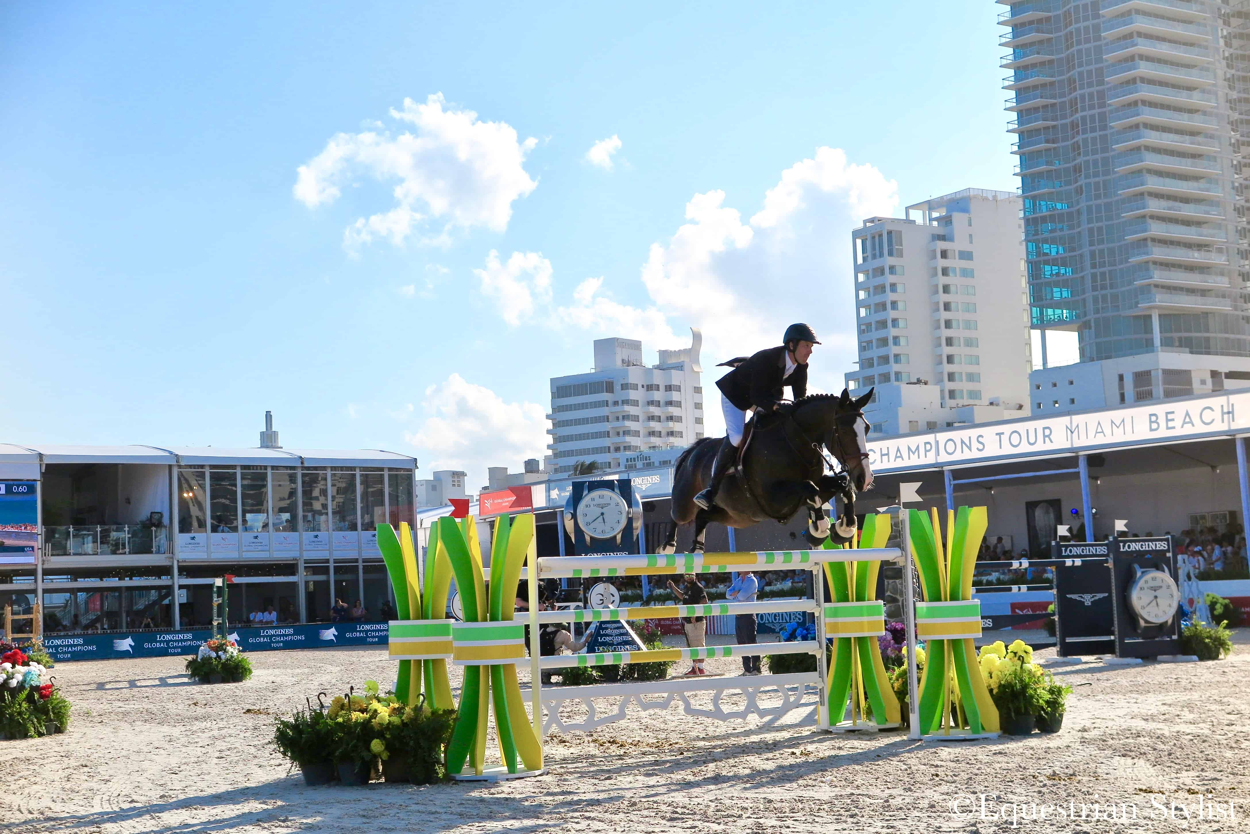 The 2018 Longines Global Champions Tour Of Miami Beach